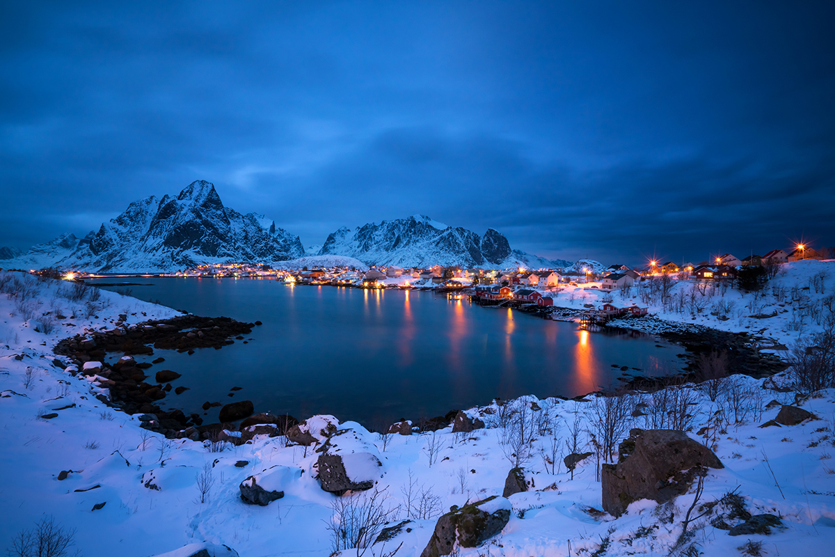 Benjamin Jaworskyj Landscape Photography Video Course Norway Reine