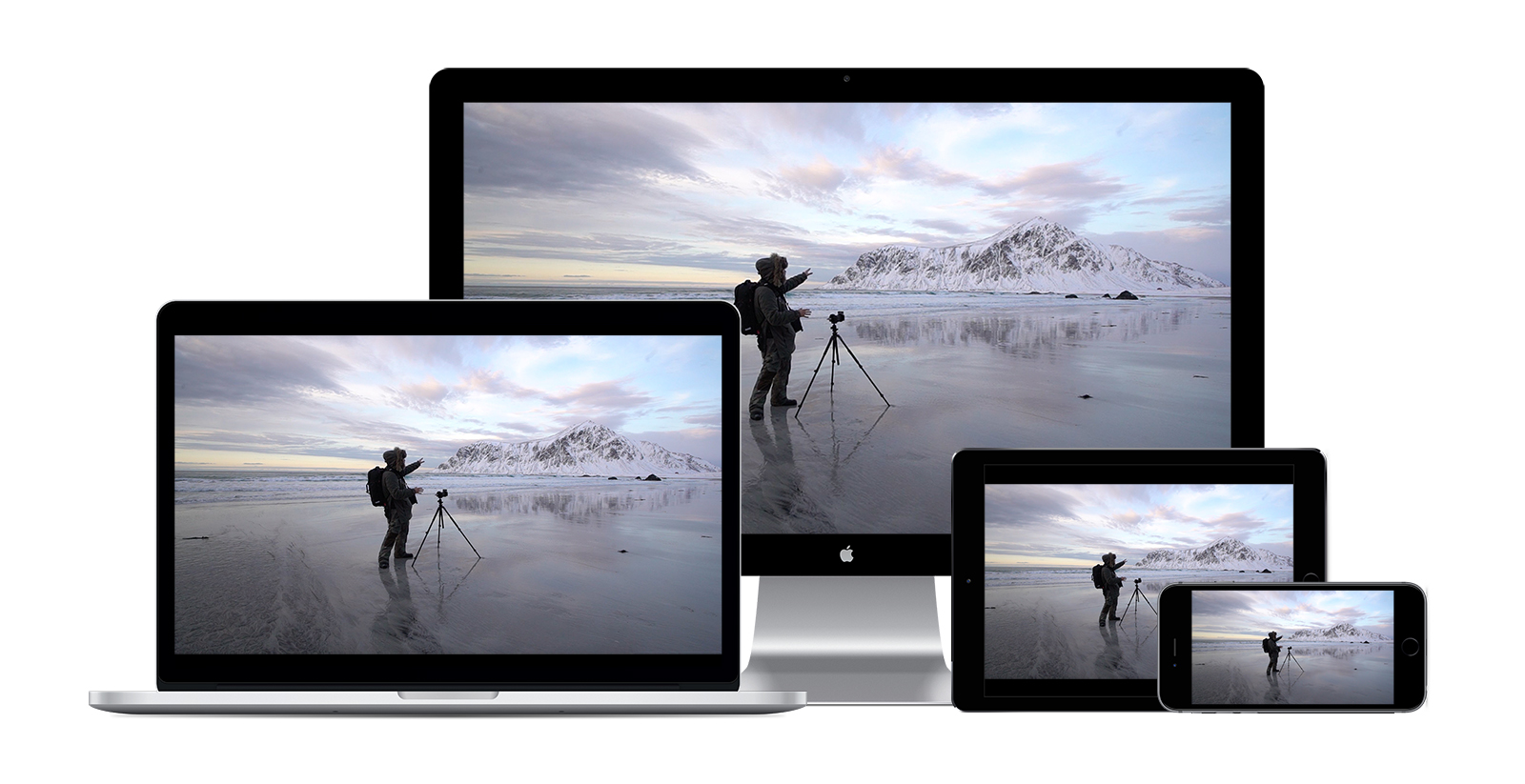 Benjamin Jaworskyj Landscape Photography Video Course Norway Mockup