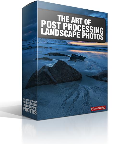 Post process landscape photos adobe photoshop