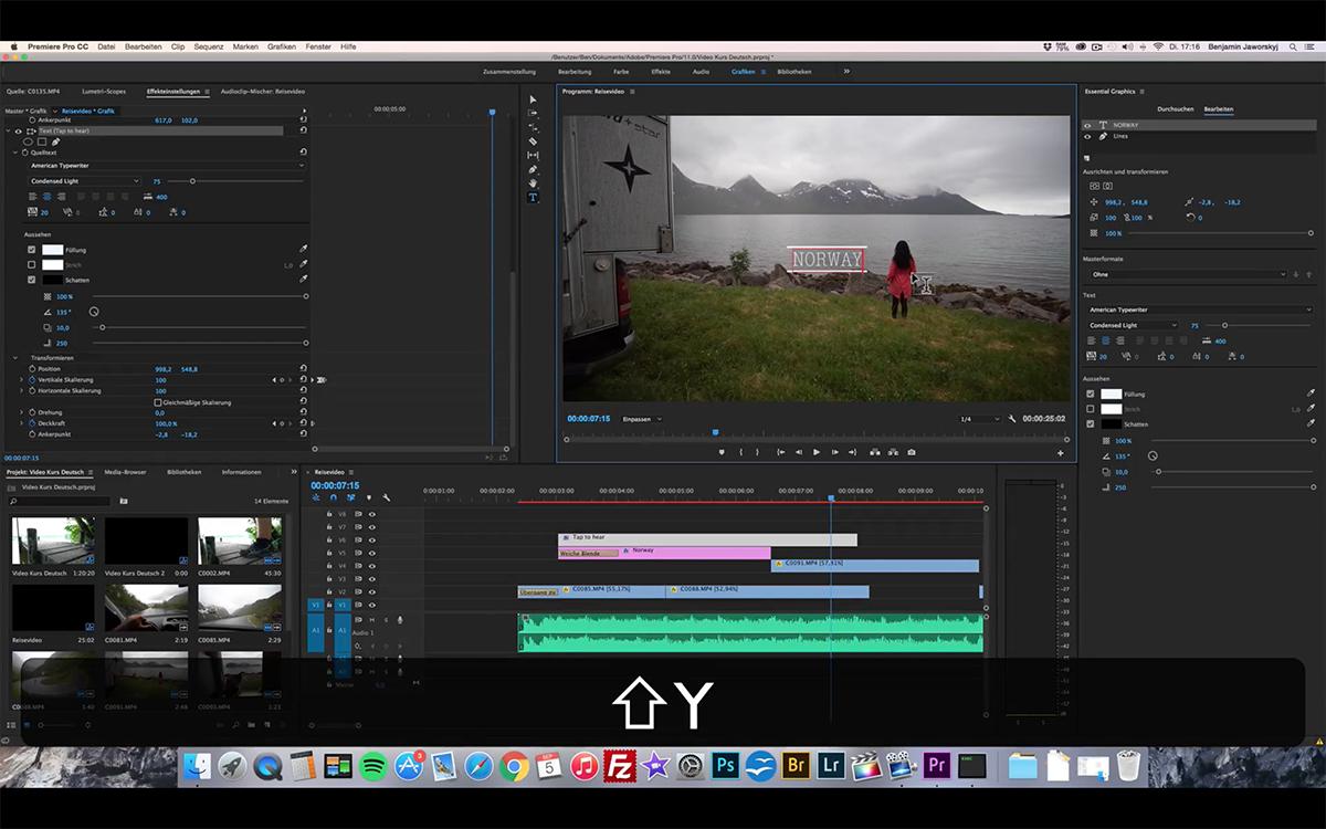 Learn Video Editing Video Course Benjamin Jaworskyj
